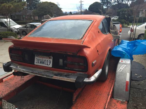1973 Datsun 260Z V6 Manual For Sale in Fremont, CA - $2,000