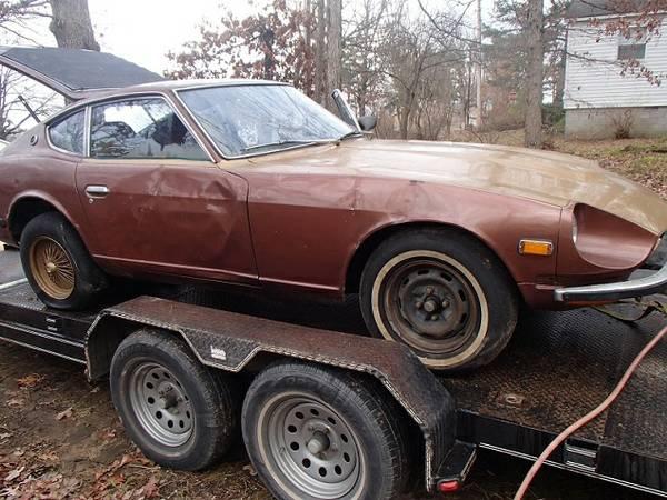 1974 Datsun 260Z Project Car For Sale In Fayetteville, AR