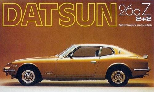 1974 Datsun 260z 2+2 Ad